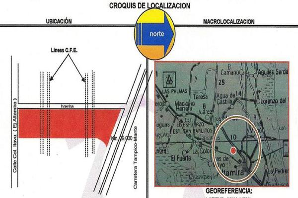 Foto de terreno habitacional en venta en  , miramar, altamira, tamaulipas, 11850573 No. 02
