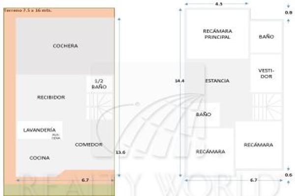 Foto de casa en venta en  , misión de anáhuac 1er sector, general escobedo, nuevo león, 3135196 No. 15