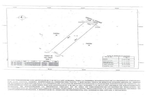 Foto de terreno habitacional en venta en  , misión las flores, solidaridad, quintana roo, 7858141 No. 04