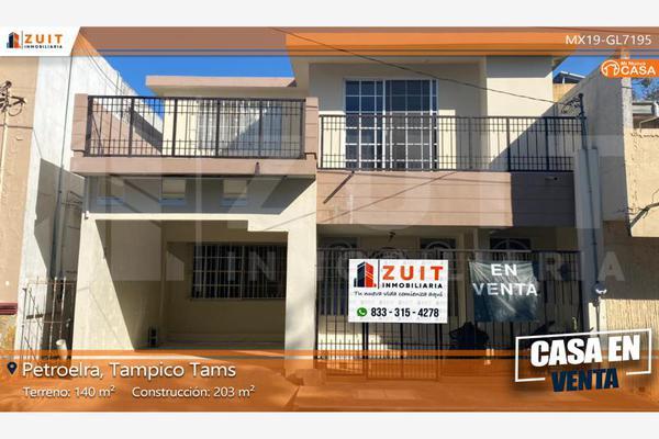 Foto de casa en venta en mission 303, petrolera, tampico, tamaulipas, 7482901 No. 01