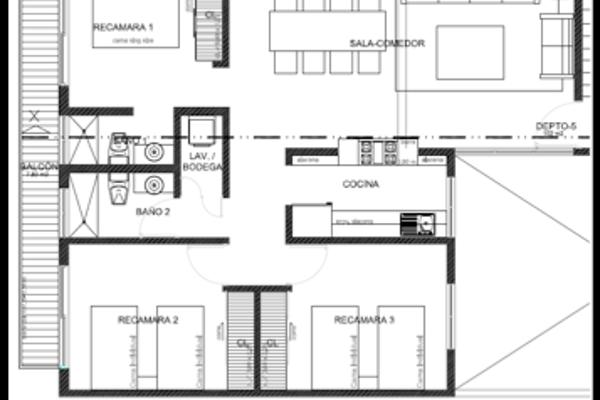 Foto de departamento en venta en monte alban , atenor salas, benito juárez, df / cdmx, 14030716 No. 05