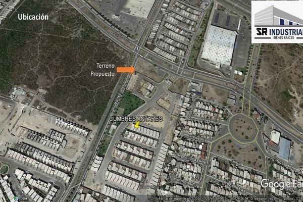 Foto de terreno comercial en venta en monte everst , colonial cumbres, monterrey, nuevo león, 7489069 No. 01