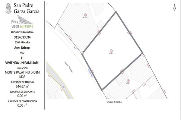 Foto de terreno habitacional en venta en monte palatino , zona fuentes del valle, san pedro garza garcía, nuevo león, 0 No. 02