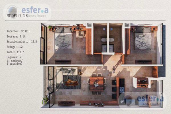 Foto de departamento en venta en  , montebello, mérida, yucatán, 12266445 No. 06