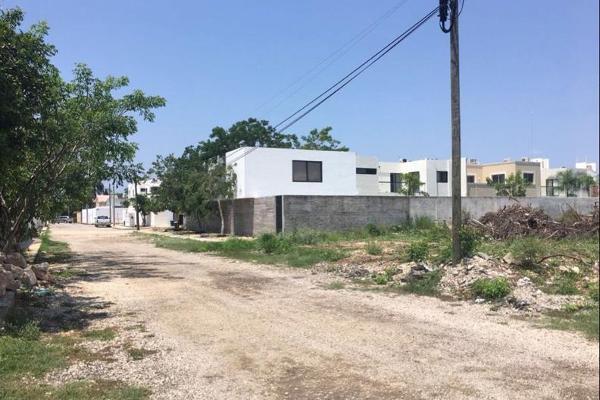 Foto de terreno habitacional en venta en  , montebello, mérida, yucatán, 7856487 No. 01