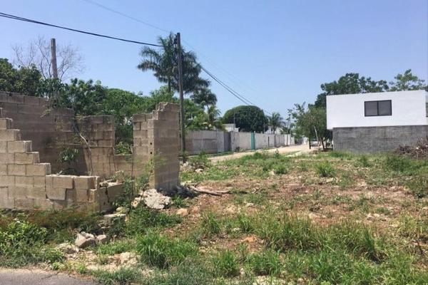 Foto de terreno habitacional en venta en  , montebello, mérida, yucatán, 7856487 No. 02