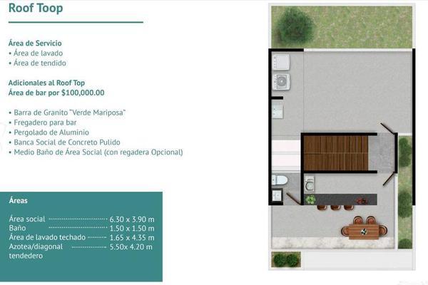 Foto de departamento en venta en  , montebello, mérida, yucatán, 7860472 No. 06