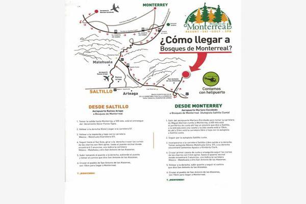 Foto de terreno habitacional en venta en monterreal , el 18 de marzo, arteaga, coahuila de zaragoza, 8671697 No. 18