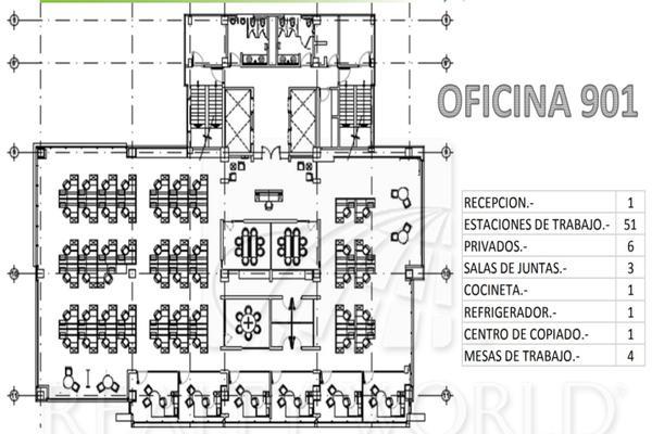 Foto de oficina en renta en  , monterrey centro, monterrey, nuevo león, 5967833 No. 12