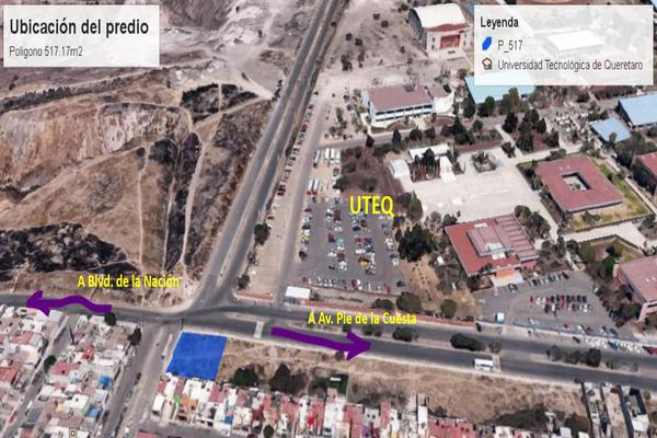 Foto de terreno comercial en venta en montesacro , el vergel fase ii, querétaro, querétaro, 8323395 No. 01