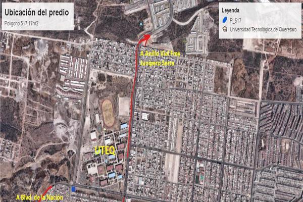 Foto de terreno comercial en venta en montesacro , el vergel fase ii, querétaro, querétaro, 8323395 No. 02