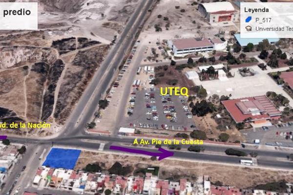 Foto de terreno comercial en venta en montesacro , el vergel fase i, querétaro, querétaro, 8323395 No. 01