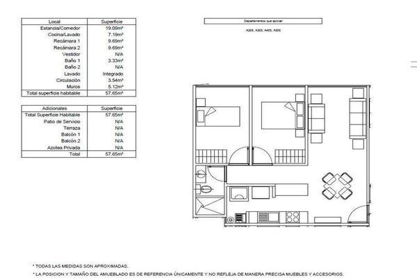 Foto de departamento en venta en  , morelos, cuauhtémoc, df / cdmx, 7862735 No. 13
