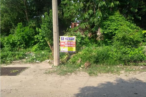 Foto de terreno habitacional en venta en  , 5 de febrero, tapachula, chiapas, 5859616 No. 01