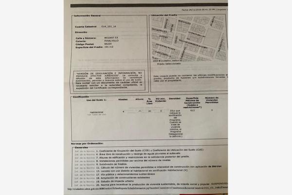 Foto de terreno habitacional en venta en mozart 53, peralvillo, cuauhtémoc, df / cdmx, 18846285 No. 02