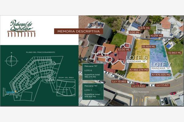 Foto de terreno habitacional en venta en muscovita 7, el pedregal de querétaro, querétaro, querétaro, 0 No. 03