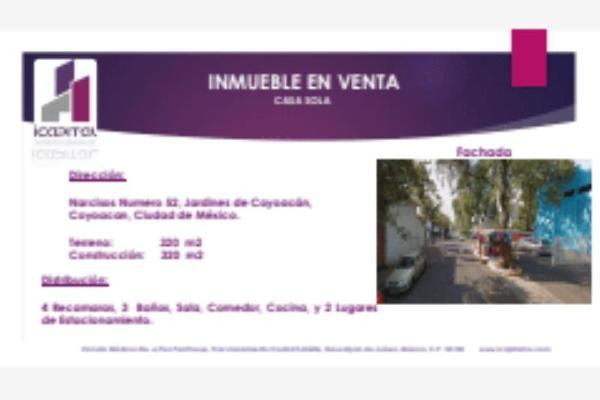 Foto de casa en venta en narcisos 52, jardines de coyoacán, coyoacán, df / cdmx, 5937038 No. 01