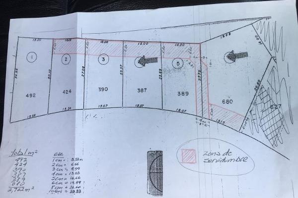 Foto de terreno habitacional en venta en nardo 208, rancho cortes, cuernavaca, morelos, 6131340 No. 20