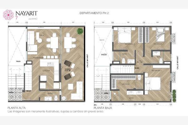 Foto de departamento en venta en nayarit 7, roma sur, cuauhtémoc, df / cdmx, 13487780 No. 04
