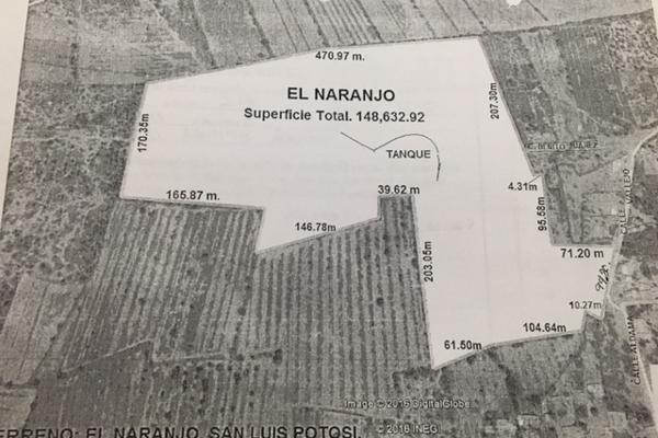 Foto de terreno industrial en venta en n/d n/d, aeropuerto, san luis potosí, san luis potosí, 5678615 No. 01