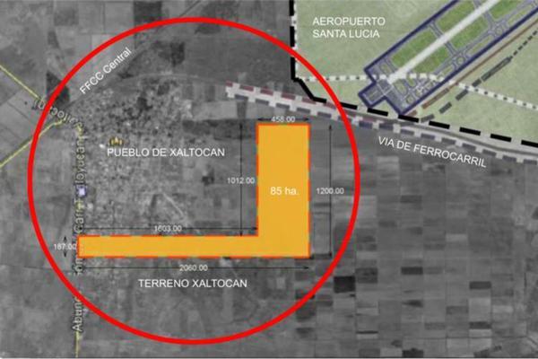 Foto de terreno comercial en venta en nextlalpan , los aguiluchos, nextlalpan, méxico, 20130703 No. 01