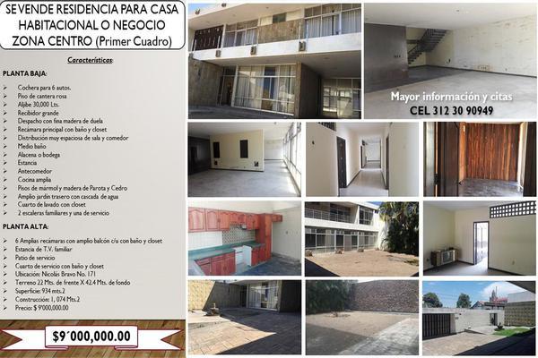 Foto de casa en venta en nicolás bravo 171, colima centro, colima, colima, 0 No. 01