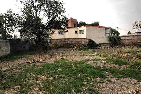 Foto de terreno habitacional en venta en nicolás bravo , san lorenzo coacalco, metepec, méxico, 7199566 No. 01
