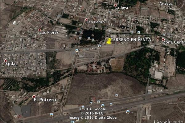 Foto de terreno comercial en venta en niños heroes lote 3 , arteaga centro, arteaga, coahuila de zaragoza, 14036276 No. 01