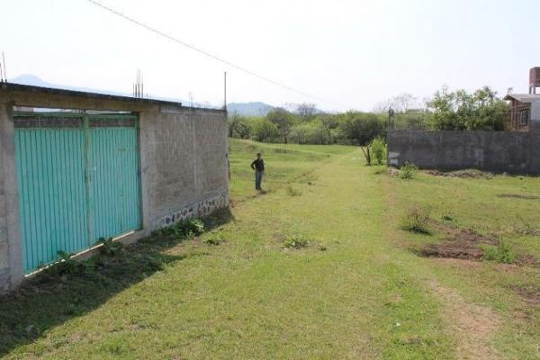 Foto de terreno habitacional en venta en ni?o perdido 80, nicolás zapata, totolapan, morelos, 8876018 No. 02