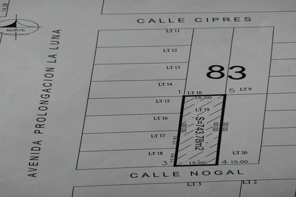 Foto de terreno habitacional en venta en nogal , supermanzana 52, benito juárez, quintana roo, 0 No. 02