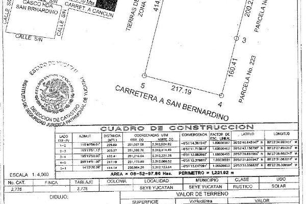 Foto de terreno habitacional en venta en  , nohchen, seyé, yucatán, 14038954 No. 04