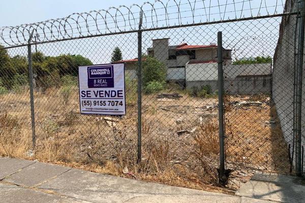 Foto de terreno habitacional en venta en novelistas , ciudad satélite, naucalpan de juárez, méxico, 0 No. 01