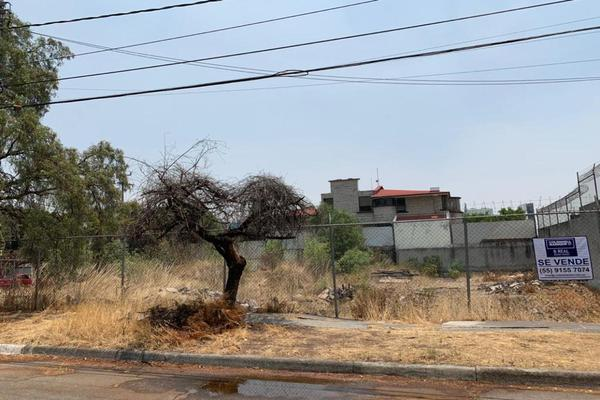 Foto de terreno habitacional en venta en novelistas , ciudad satélite, naucalpan de juárez, méxico, 0 No. 03