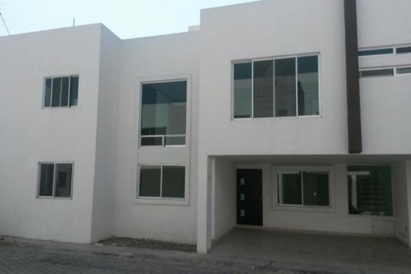 Foto de casa en venta en numero definida 10, la escondida, san andrés cholula, puebla, 8877921 No. 01