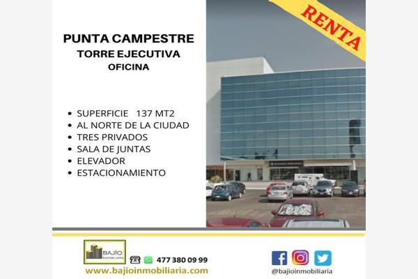 Foto de oficina en renta en oficina corporativa en renta 304, punta campestre, león, guanajuato, 17018622 No. 01