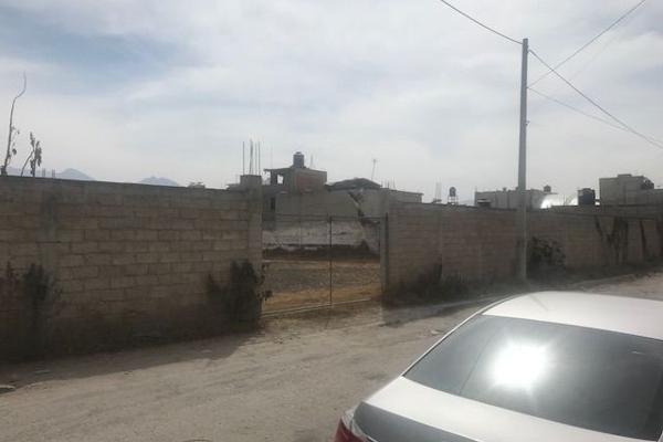 Foto de terreno habitacional en venta en olivo , recursos hidráulicos, tultitlán, méxico, 5926352 No. 01
