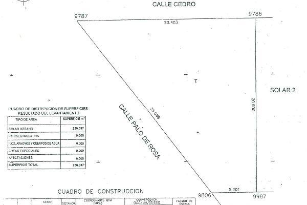 Foto de terreno habitacional en venta en palo de rosa , ampliación el saltito, durango, durango, 5295042 No. 02