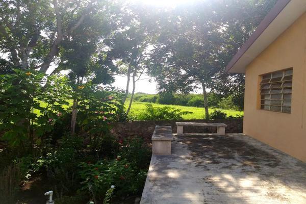 Foto de rancho en venta en  , panaba, panabá, yucatán, 5663461 No. 20