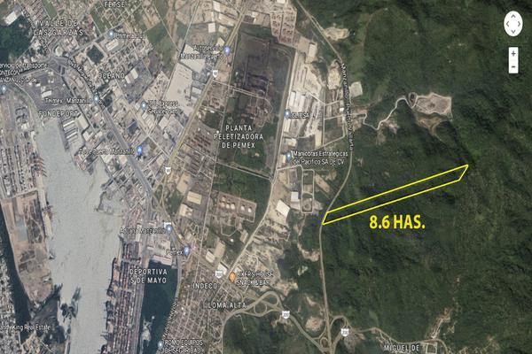 Foto de terreno habitacional en venta en parcela , tapeixtles, manzanillo, colima, 6166158 No. 01