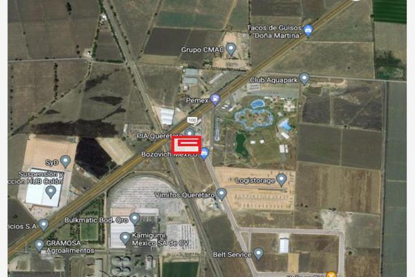 Foto de terreno industrial en renta en parque industrial aeopuerto pia 1, higuerillas, cadereyta de montes, querétaro, 0 No. 05