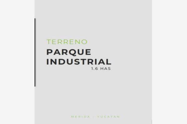 Foto de terreno industrial en venta en parque industrial chablekal pk industrial, chablekal, mérida, yucatán, 5979604 No. 01