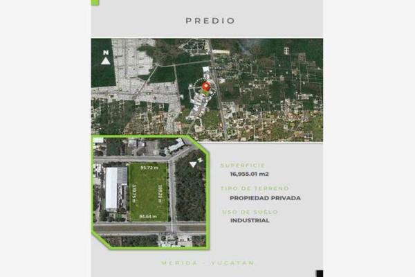 Foto de terreno industrial en venta en parque industrial chablekal pk industrial, chablekal, mérida, yucatán, 5979604 No. 02