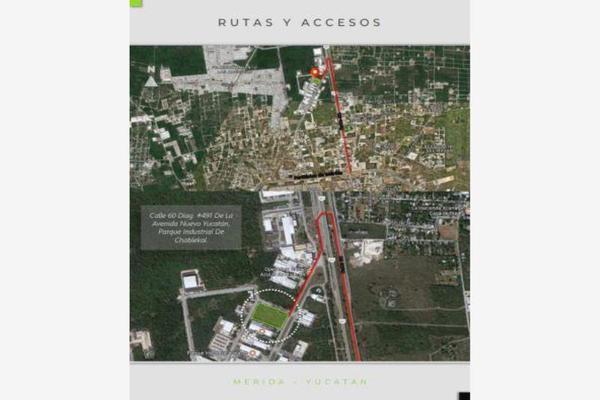 Foto de terreno industrial en venta en parque industrial chablekal pk industrial, chablekal, mérida, yucatán, 5979604 No. 03