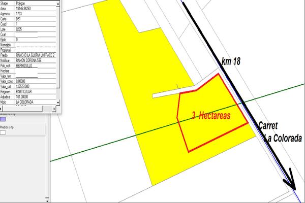 Foto de terreno habitacional en venta en parque industrial , hermosillo centro, hermosillo, sonora, 9923642 No. 01