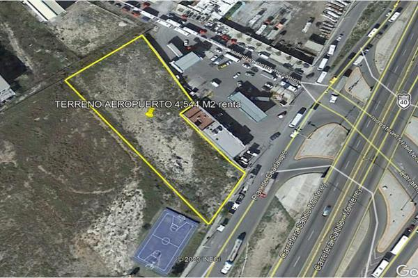 Foto de terreno habitacional en renta en  , parque industrial, ramos arizpe, coahuila de zaragoza, 19196254 No. 01