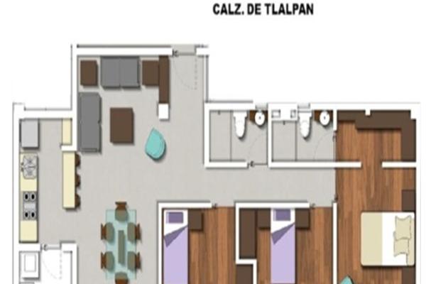 Foto de departamento en venta en  , parque san andrés, coyoacán, distrito federal, 3200765 No. 04