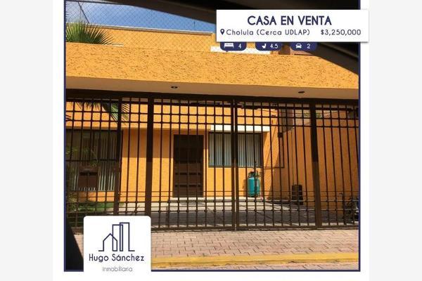 Foto de casa en venta en paseo de cráter 17, paseos de cholula, san andrés cholula, puebla, 8901444 No. 01