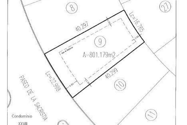 Foto de terreno habitacional en venta en paseo de la sacristia , el campanario, querétaro, querétaro, 14022243 No. 04