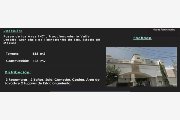 Foto de departamento en venta en paseo de las aves 471, valle dorado, tlalnepantla de baz, méxico, 8233562 No. 01
