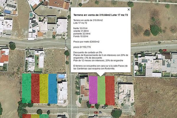 Foto de terreno habitacional en venta en paseo de las gardenias 17, paseo de la hacienda, colima, colima, 0 No. 01